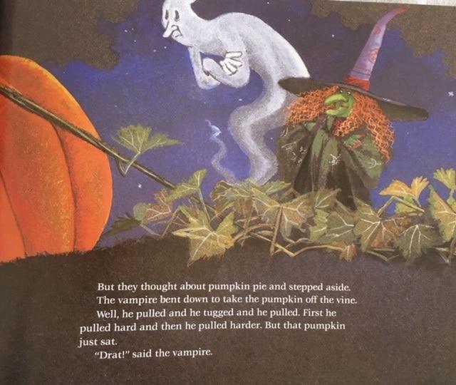 絵本で英語(単語帳付)②Big Pumpkin ハロウィンの季節に!