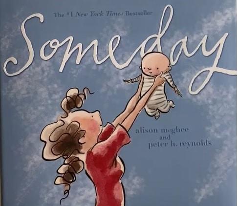 ちいさなあなたへの英語絵本(Someday)☆出産祝いや母の日のギフトにも☆