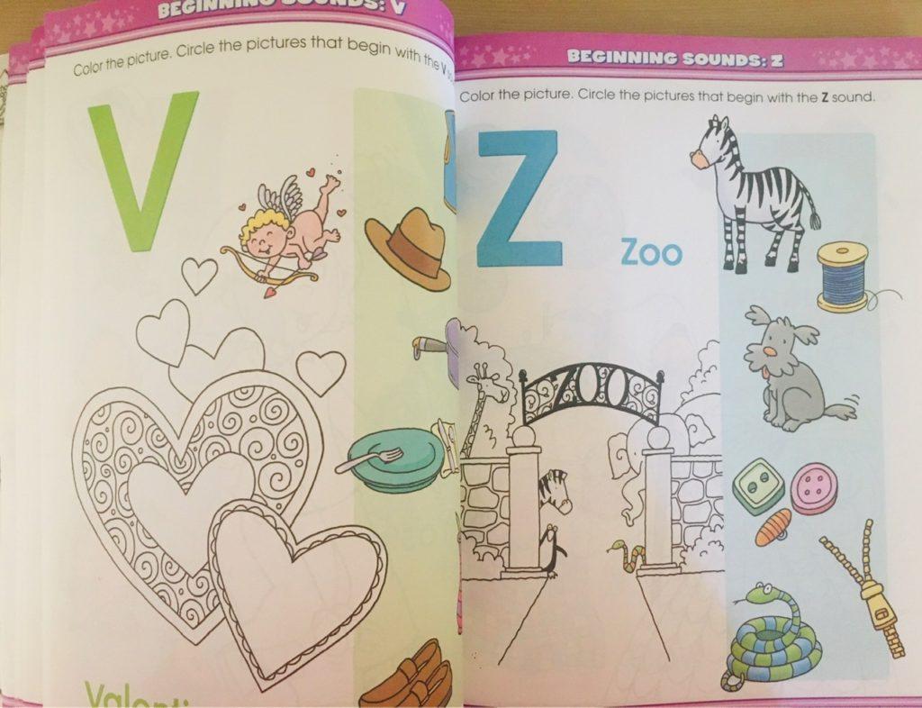 英語のワークブックBIG Workbook VZのページ
