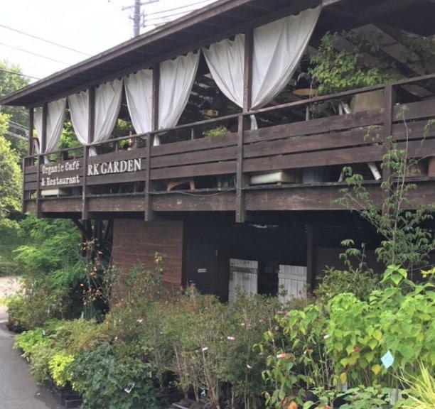 【軽井沢追分】Flower Field併設のお洒落なオーガニックカフェ RK Garden