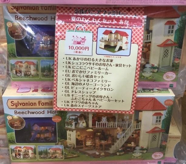 【軽井沢アウトレット】シルバニアファミリー店内で子供は遊べるか