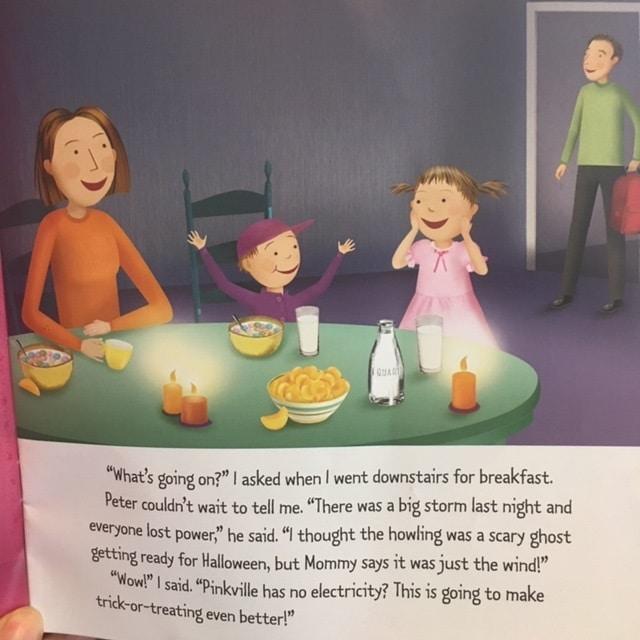 絵本で英語(単語帳付)④Pinkalicious: Pink or Treat! ☆アメリカの女の子に大人気!