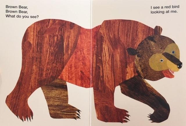 絵本で英語(単語帳付)⑥Brown Bear, Brown Bear, What Do You See? 定番中の定番!