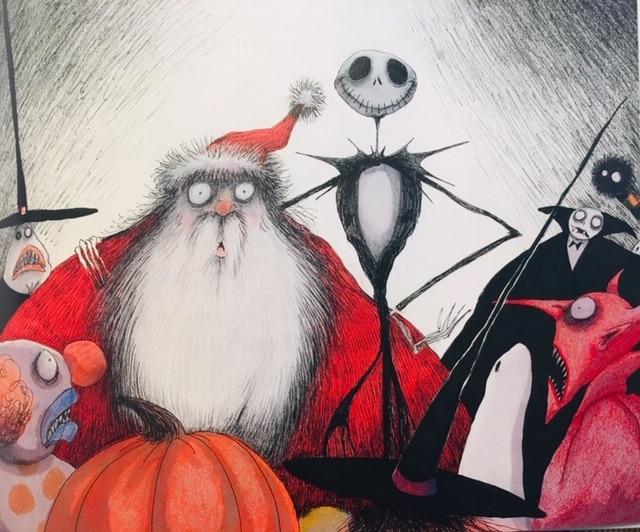 絵本で英語(単語帳付)㉑The Nightmare before Christmas☆サンタの英語表現いくつ知ってる?