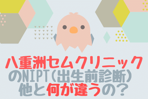 八重洲セムクリニックのNIPT(出生前診断)口コミ評判