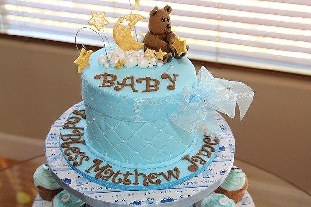 妊娠おめでとうメッセージ英語!ベイビーシャワーケーキ