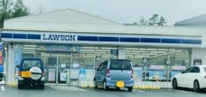 軽井沢のコンビニやガソリンスタンドの看板の色